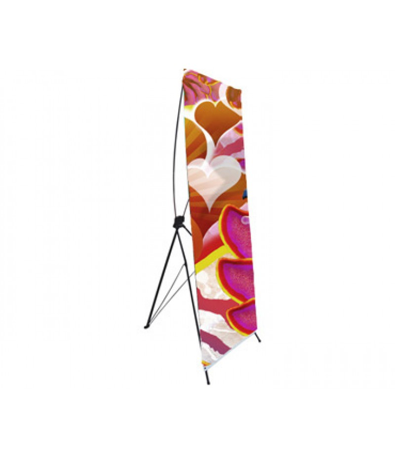 """X-Banner Stand - 32""""W x 82""""H"""