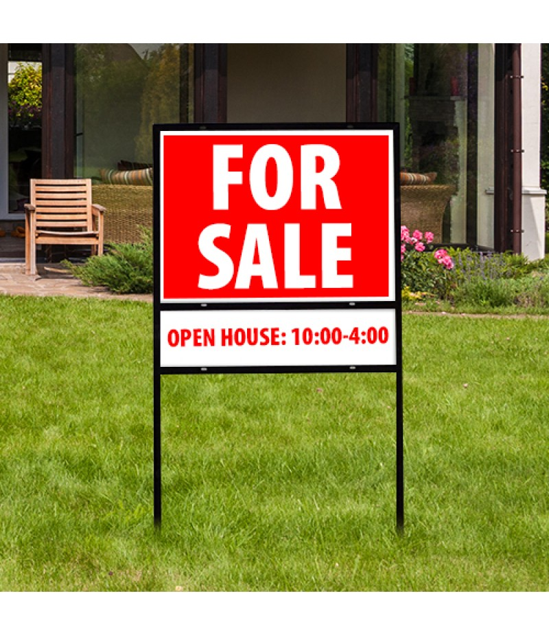 "H-Frame 24""x18"" ** ONLY FOR REAL ESTATE SIGNS"