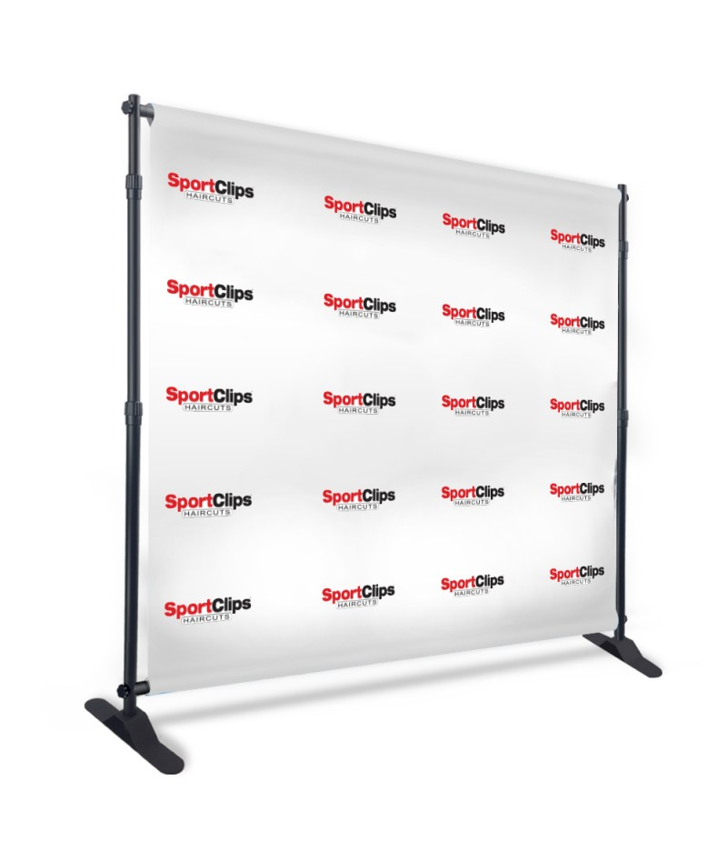 Backdrop Banner - Size in feet (12'x8')