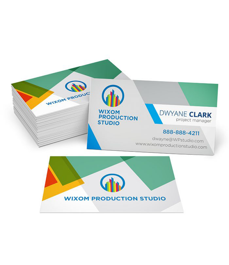 Business Cards -  Full Color Print - 16 PTS - Gloss UV - Quantity: 1000 units - Single Side