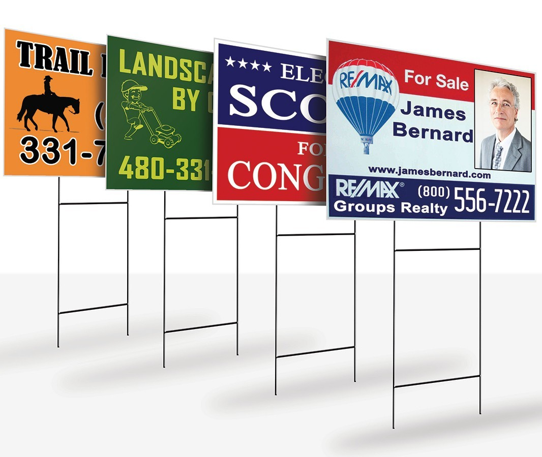 Yard Signs Full Color